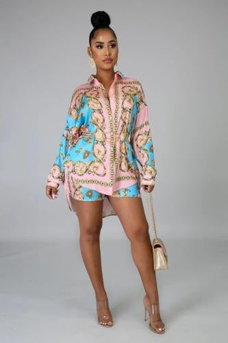 "Image of ""Outstanding"" 2 Pc Short & Blouse"