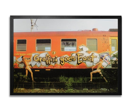 "Image of ""GRAFFITI GOES EAST ""Steak & Kobolt (CAF)"