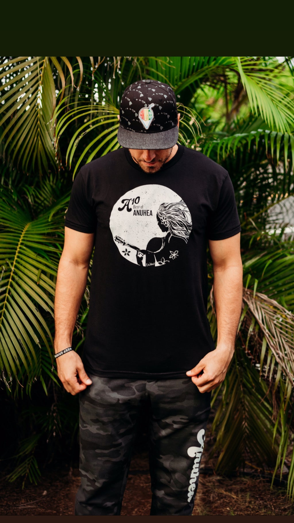Image of A10 Black Tee