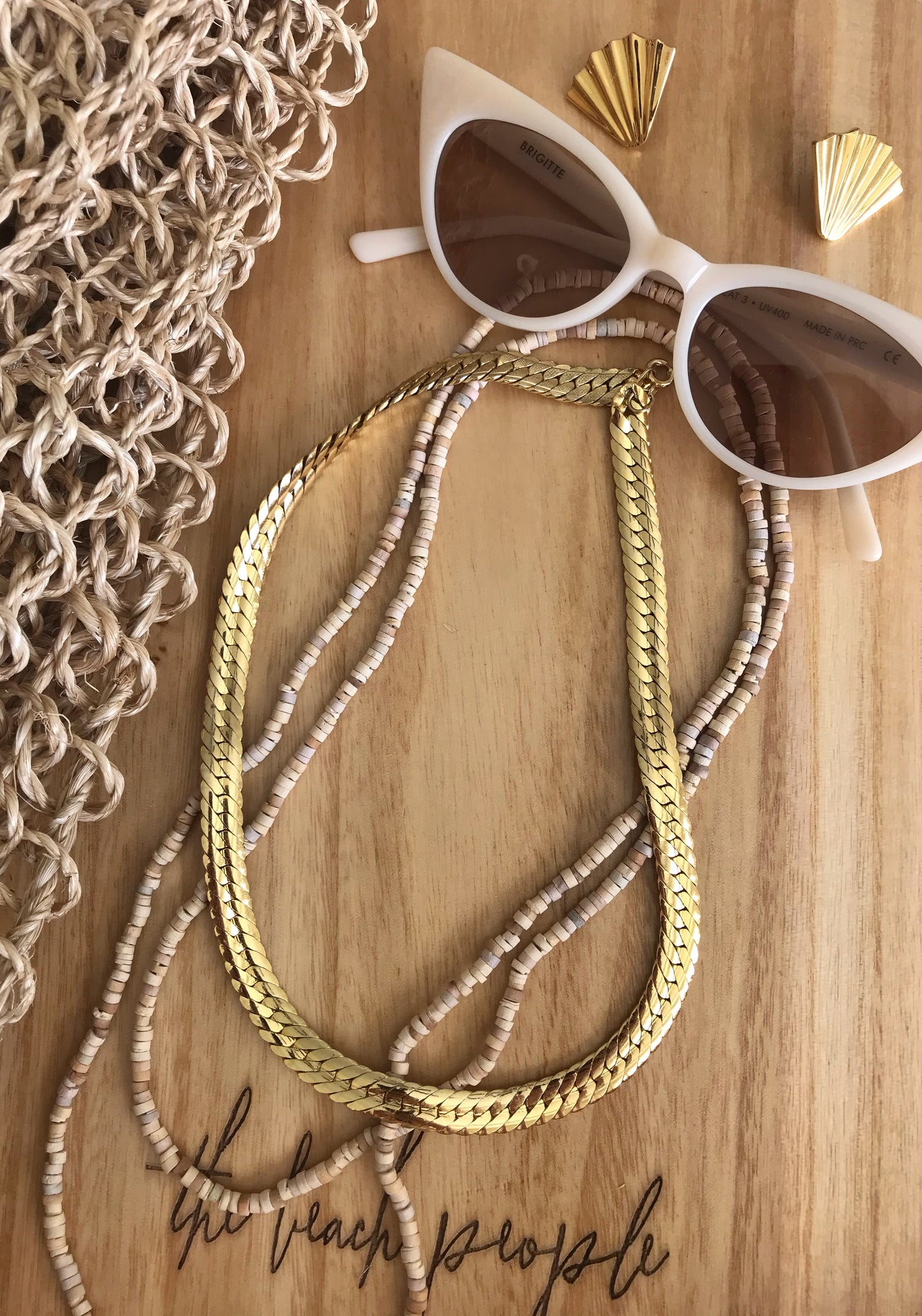 Image of Gold Necklace #106