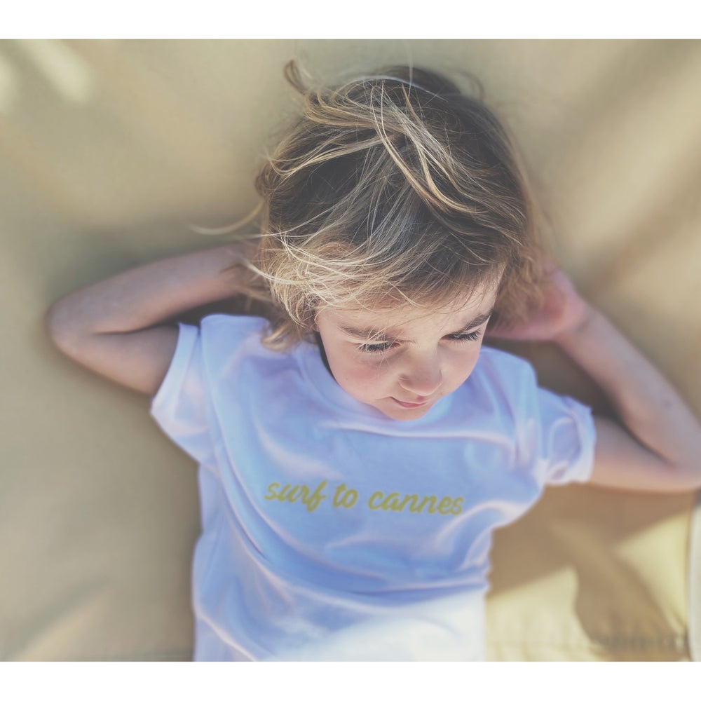 Image of Tee shirt enfant Surf to Cannes