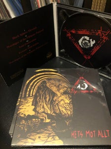 Image of THE THIRD EYE RAPISTS 'Hets Malt Ally' cd