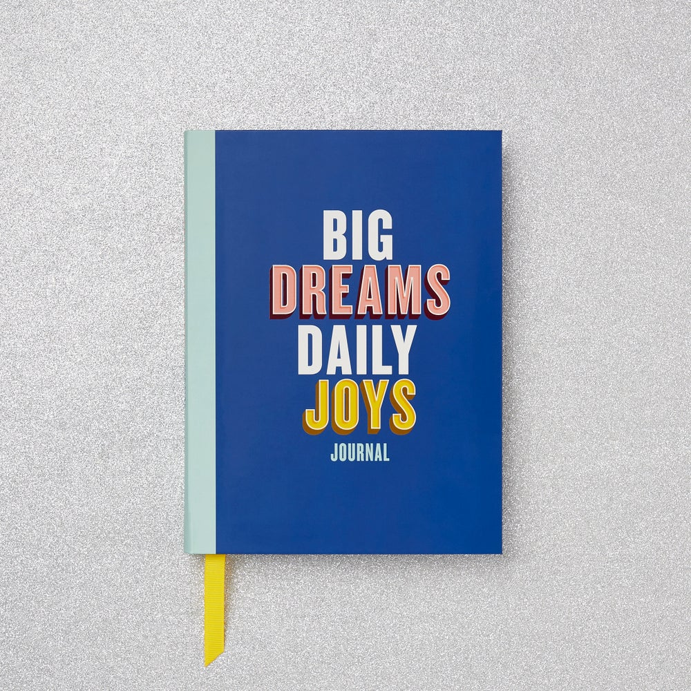 Image of BIG DREAMS DAILY JOYS journal