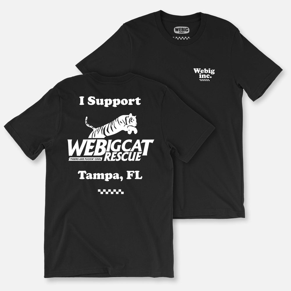 Image of WEBIG CAT RESCUE TEE