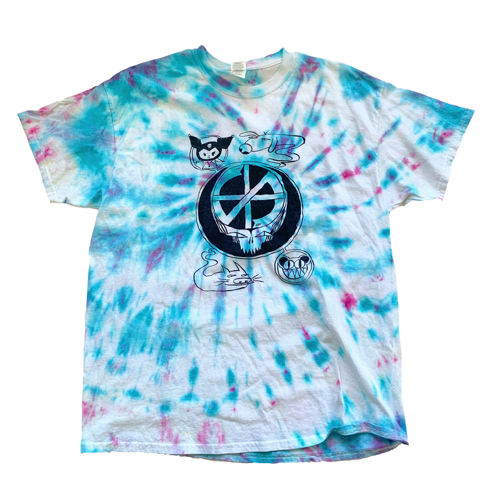 Image of Grateful Crass (tie dye)