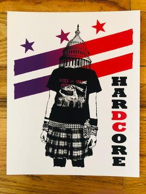 "Image of DC HarDCore Two Print Set - 8"" x 10"""