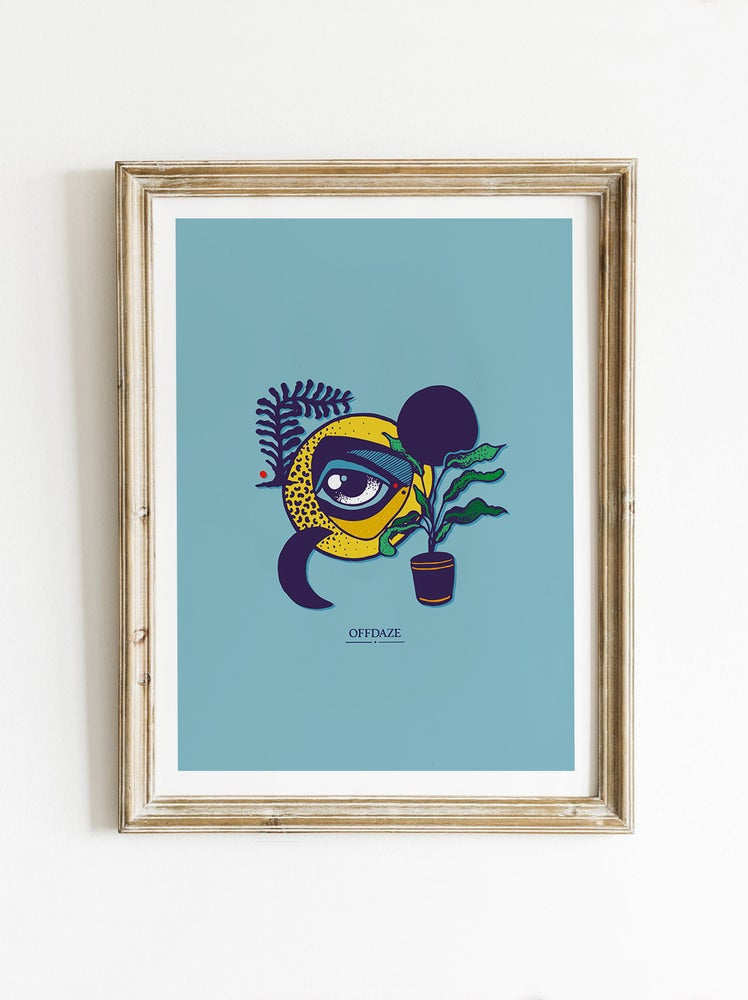 Image of Real Eyes (A5/Giclee)