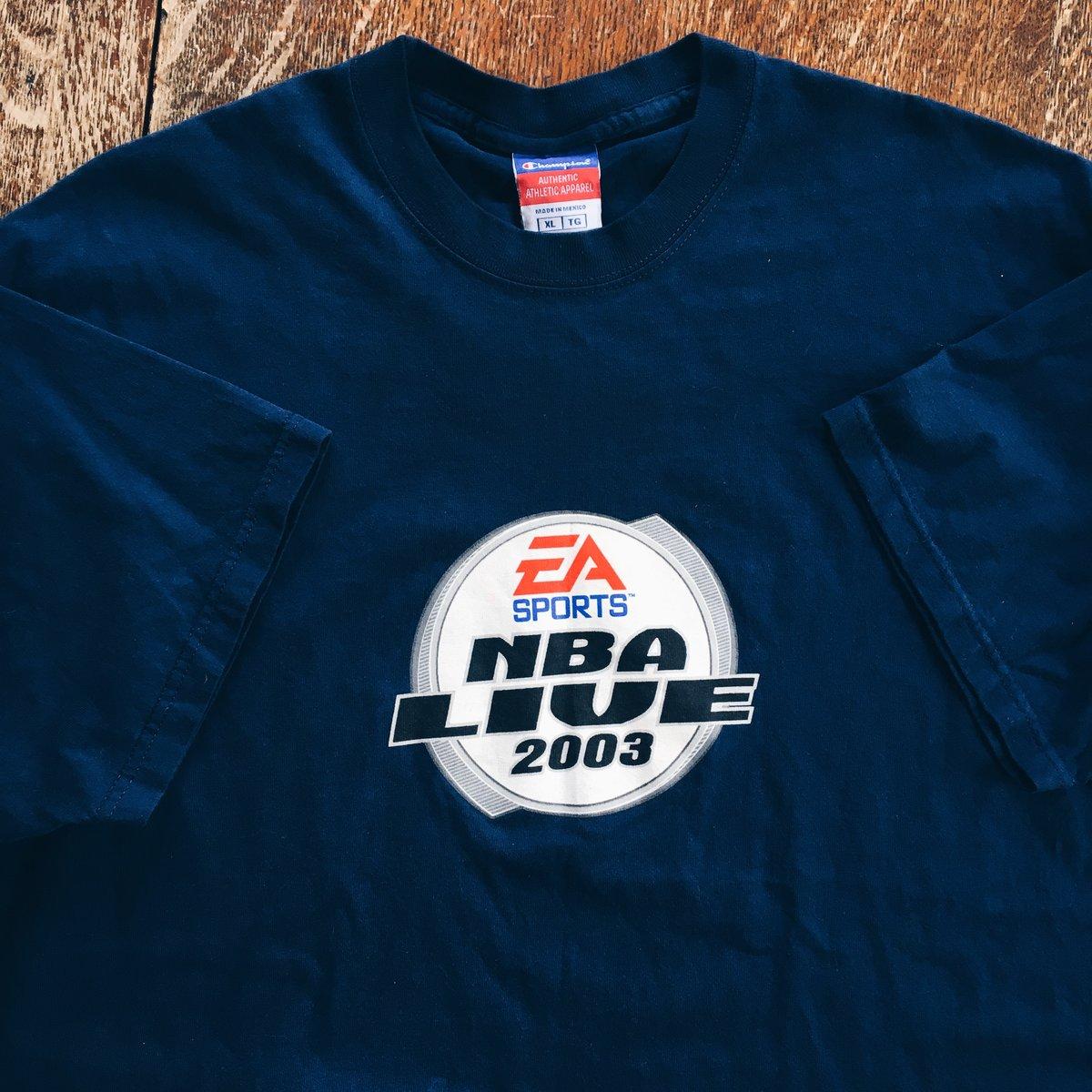 Image of Original 2003 Champion EA Sports NBA Live Promo Tee.