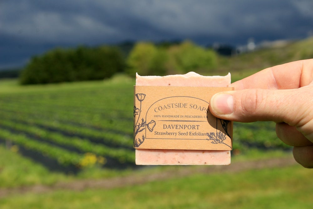 Image of Davenport Bar - Strawberry Seed Exfoliating Soap
