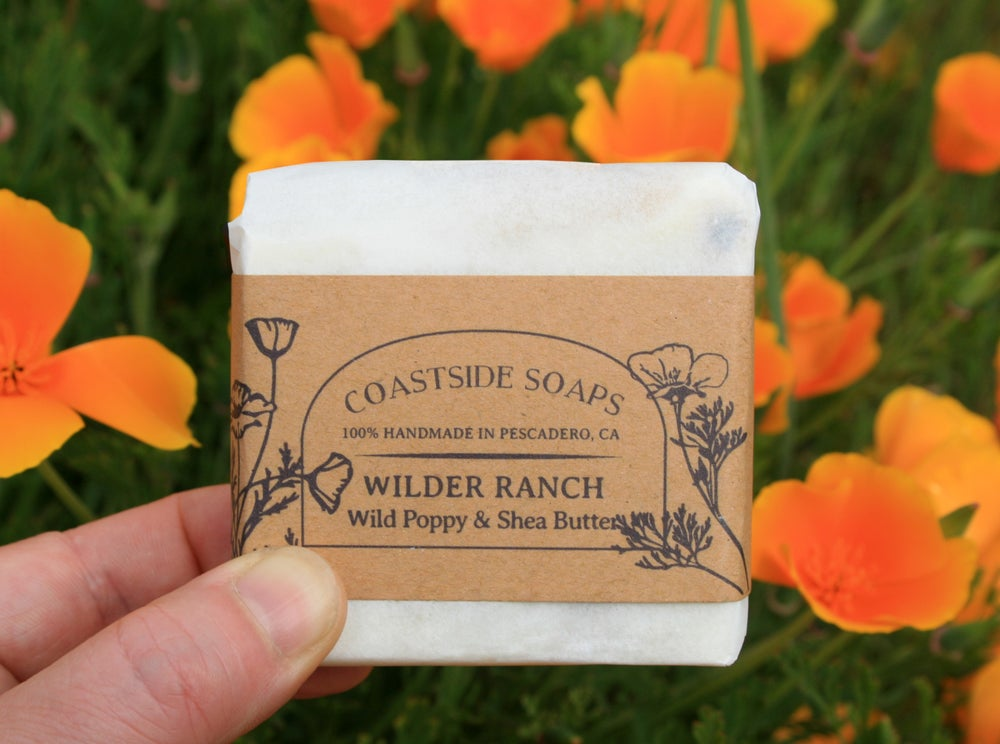 Image of Wilder Ranch Bar - Moisturizing Wild Poppy & Shea Butter Soap