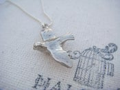Image of Dove in Flight Necklace