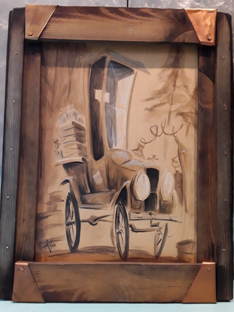Image of Tin Lizzie Original Painting