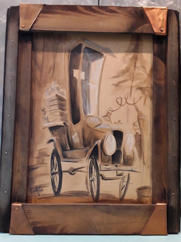 Image of Tin Lizzie Original Painting