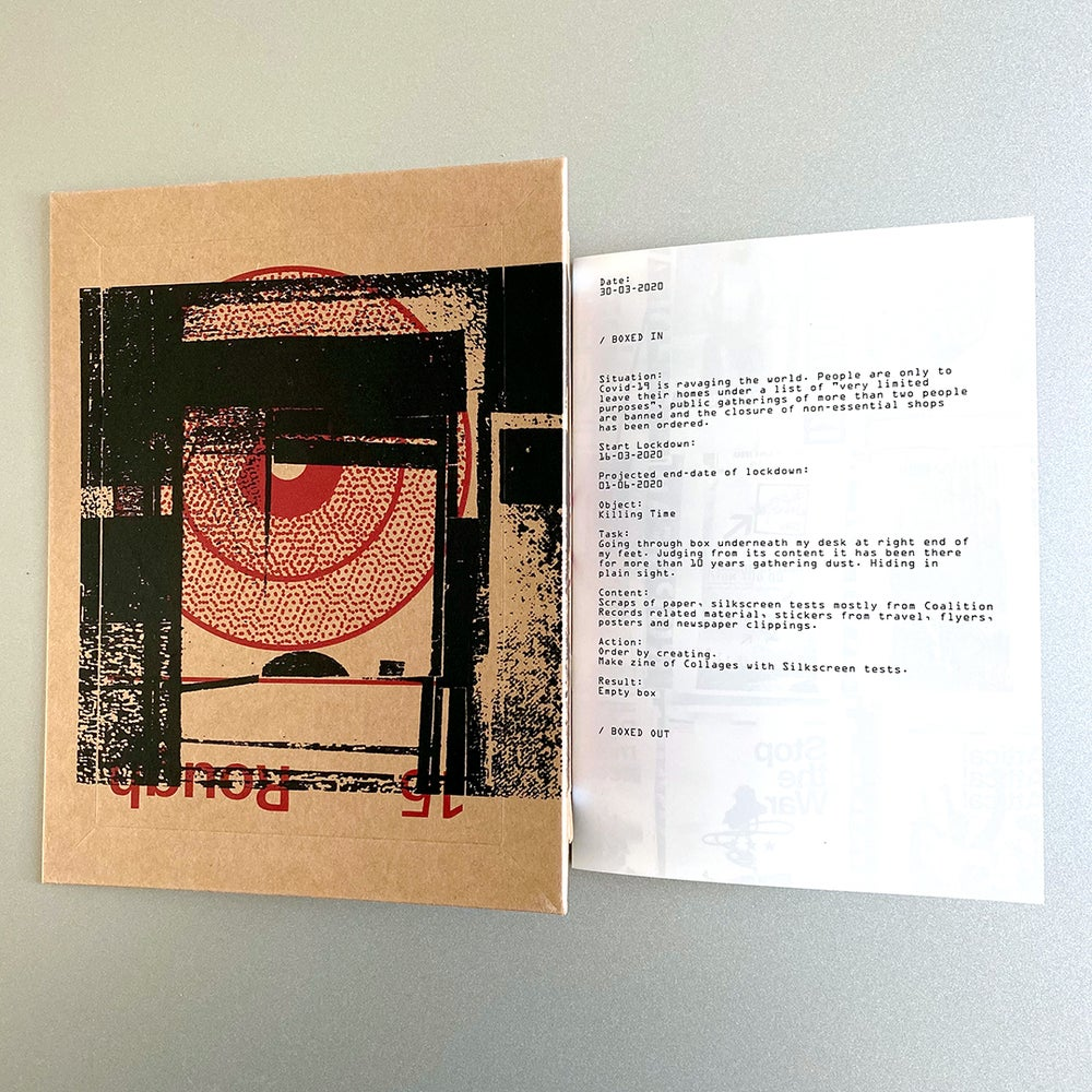 Image of BOXED IN zine / €12 (ex. ppd)