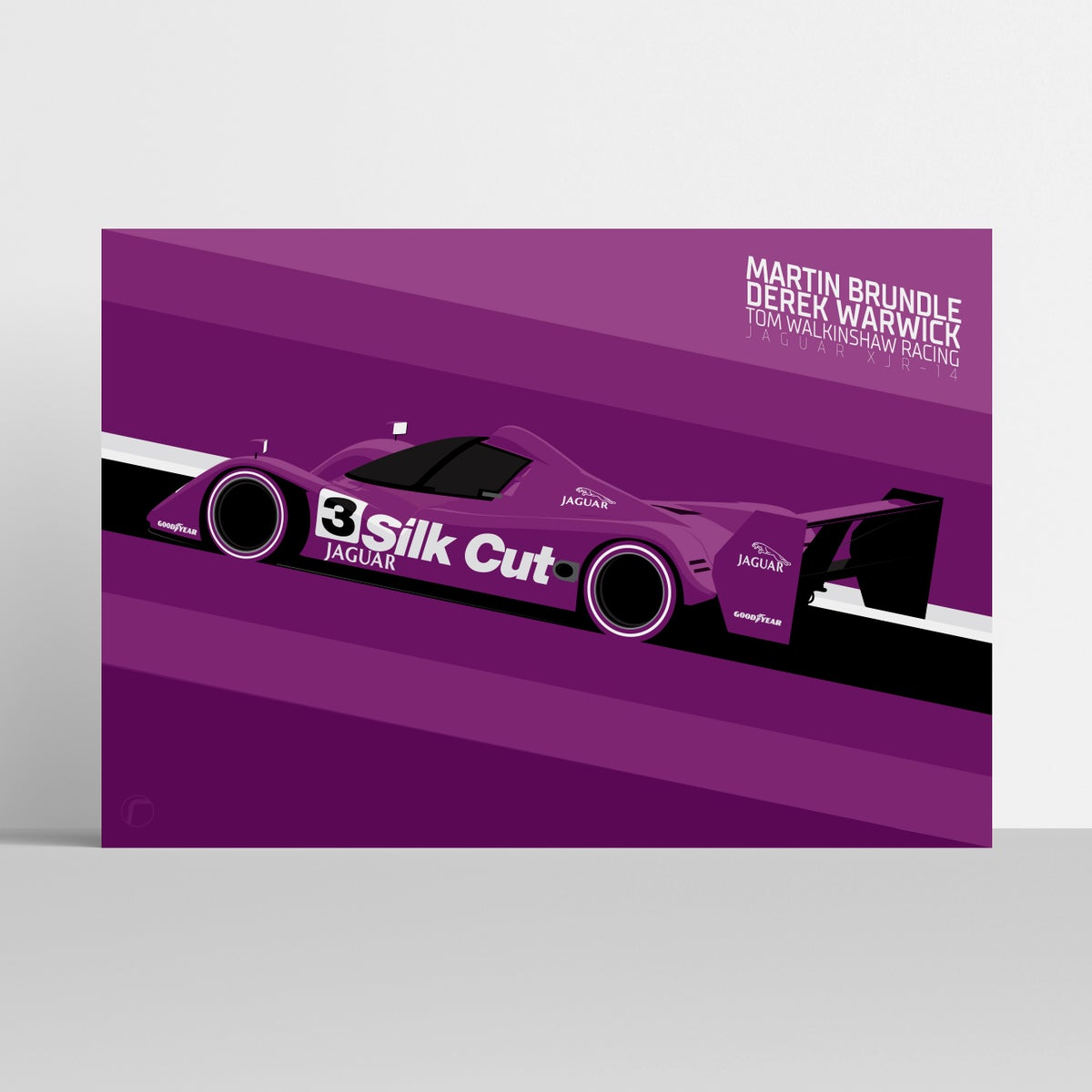 Image of Jaguar XJR-14 | Brundle & Warwick