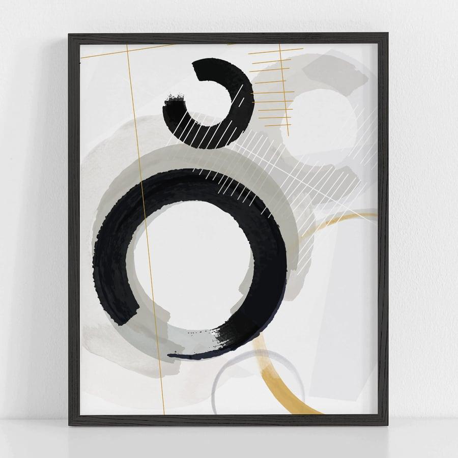 Image of Surface Tension No. 1 Art Print
