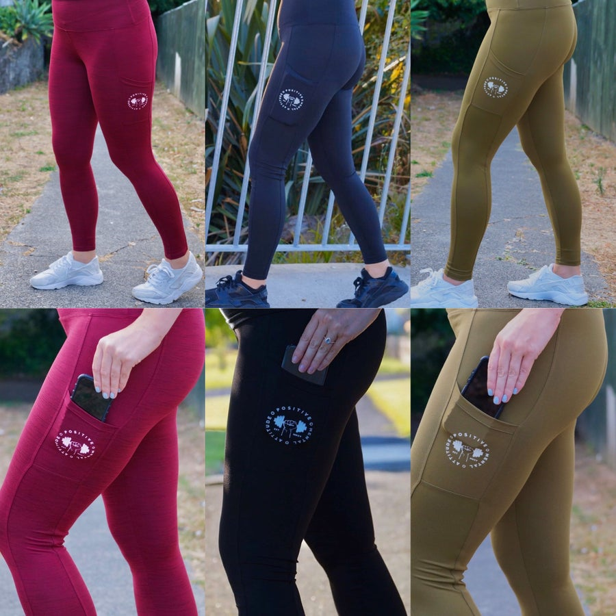 Image of 3 Pairs of PMA Fitwear Leggings