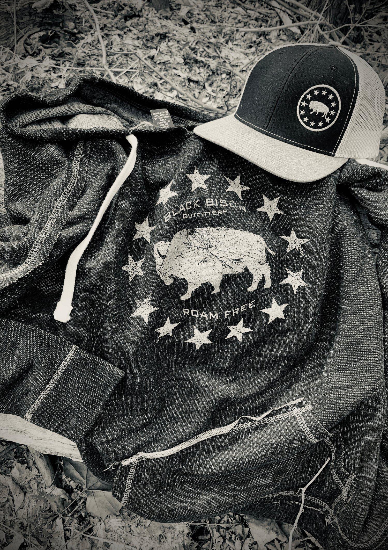 Image of  Bison Stars vintage Hoodie