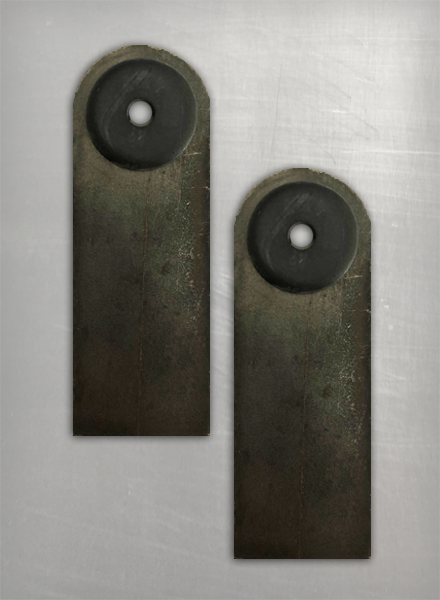 Image of DB  Rubber Mount Skinny Tabs