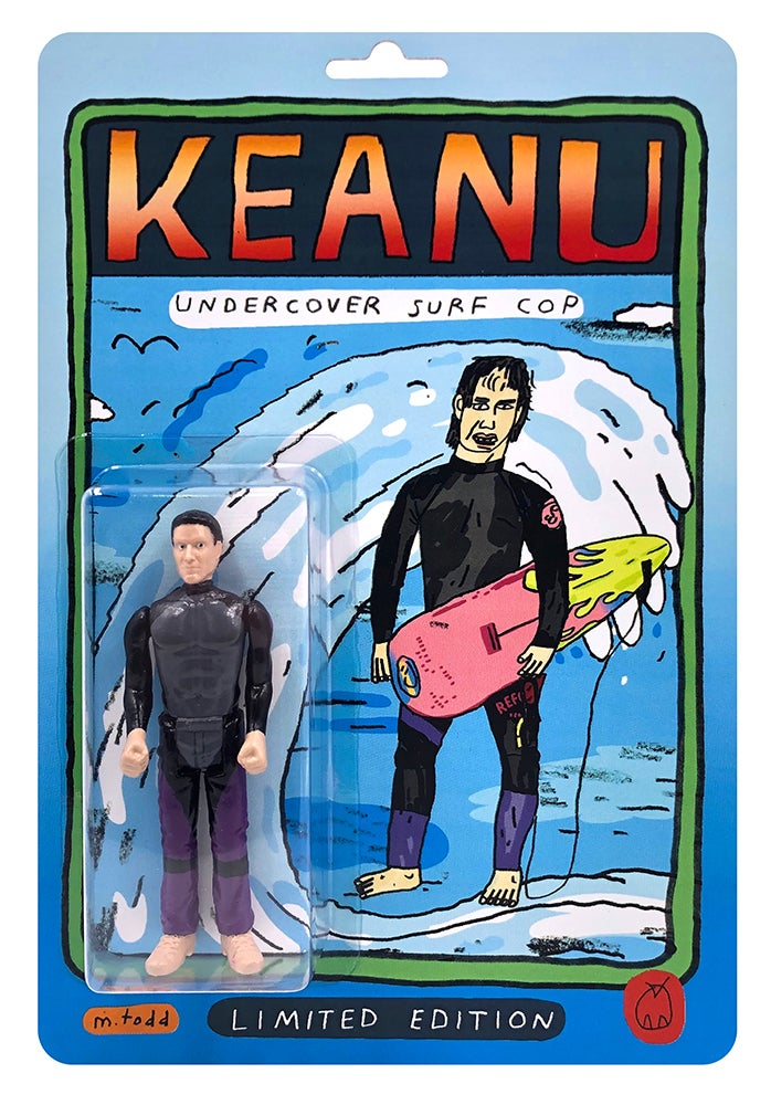 (Mark Todd) Keanu Undercover Surf Cop