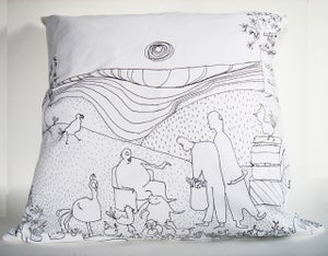 "Image of ""Valley"" Pillow"