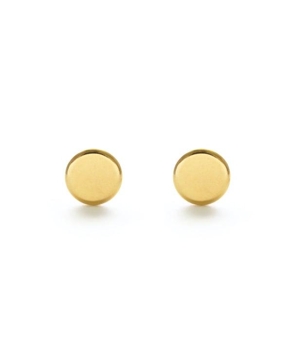 Image of Amano Gold Dot Stud Earrings