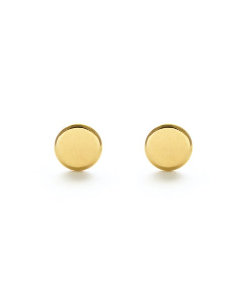 Image of Amano Gold Dot Stud Earrings