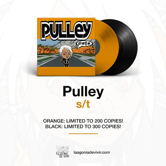 "Image of PRE-ORDER NOW!!! LADV143 - PULLEY ""@#!*"" LP REISSUE"