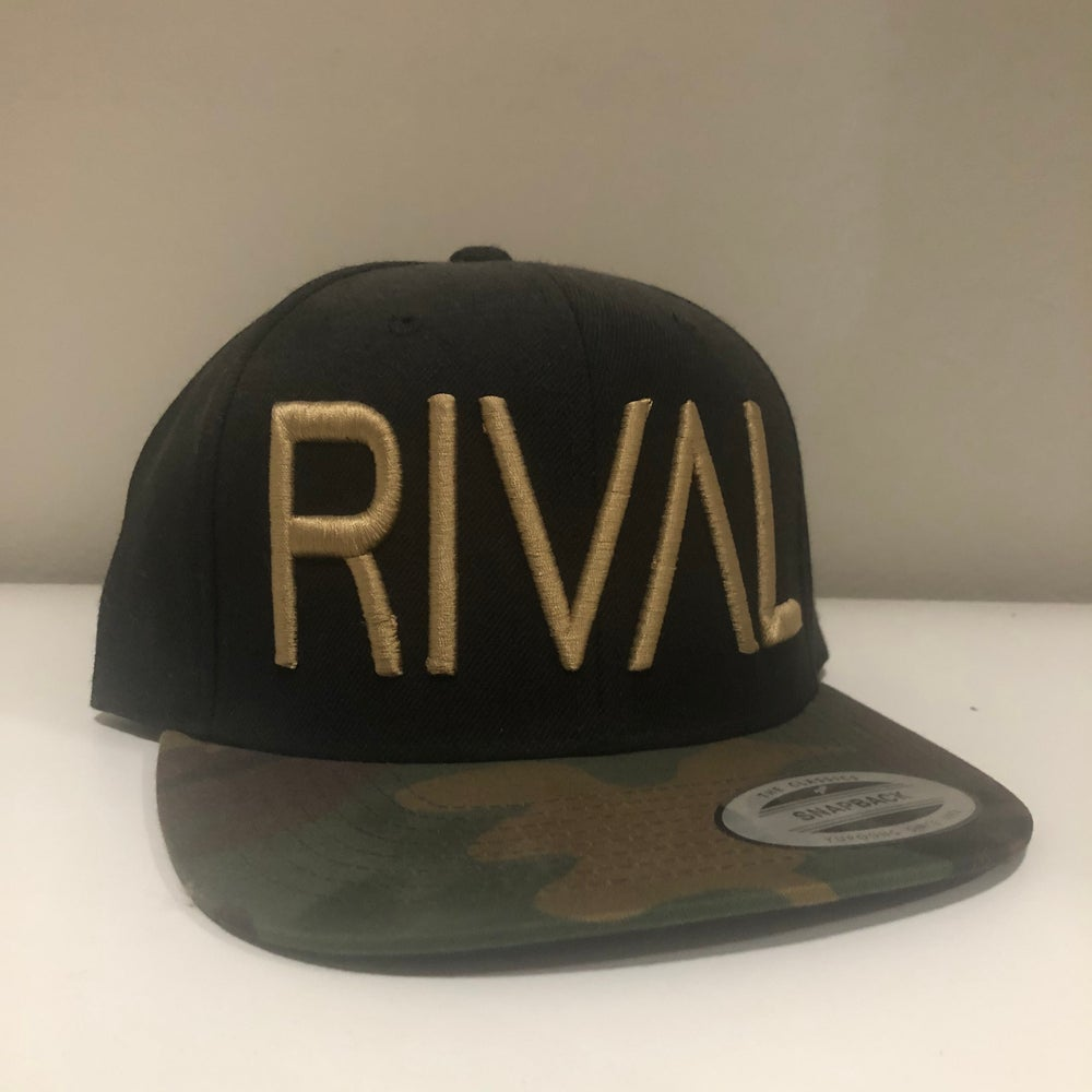 RIVAL Snapback - Camo