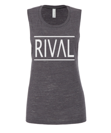RIVAL Muscle Tank - Lt Grey