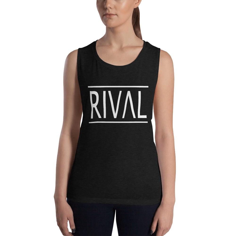 RIVAL Muscle Tank - Dk Grey