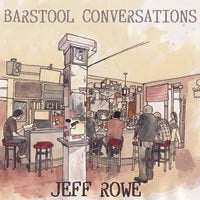 "Image of Jeff Rowe ""Barstool Conversations"" LP(black vinyl) 50%OFF"