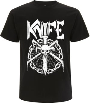 Image of KNIFE - Shirt (chain/logo)