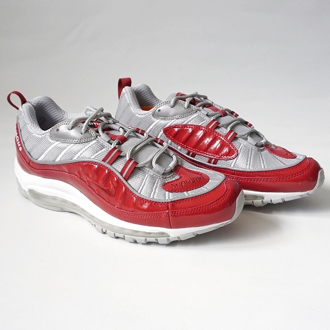 "Párrafo escribir una carta bulto  Nike Air Max 98 x Supreme ""Varsity Red"" | Private Label Concierge"