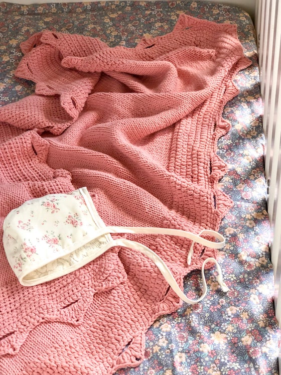 Image of Dusty Pink Throw
