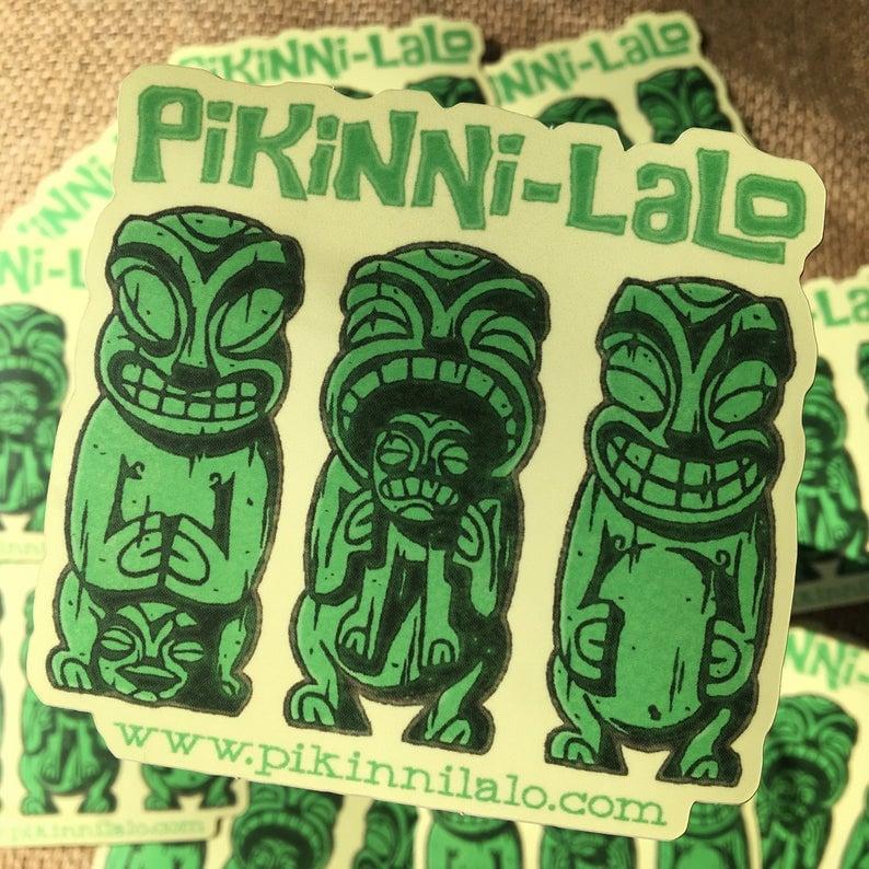 Image of Cannibal Tiki Sticker
