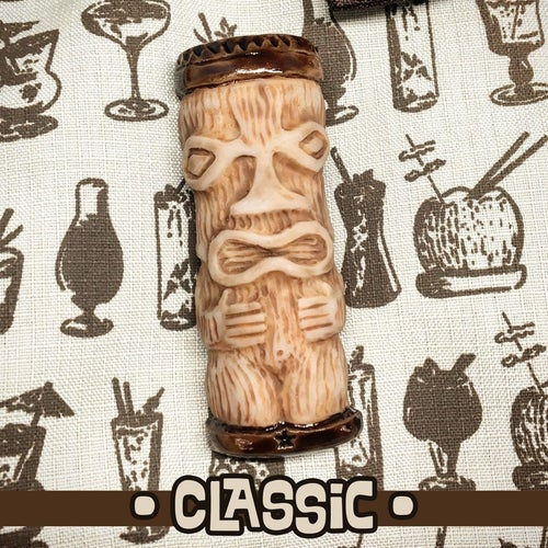 Image of Peanut Tiki Brooch