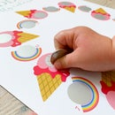 Image 2 of Personalised Ice Cream Activity Calendar