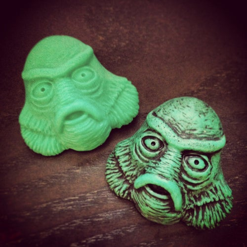 Image of Creature From The Black Lagoon Brooch