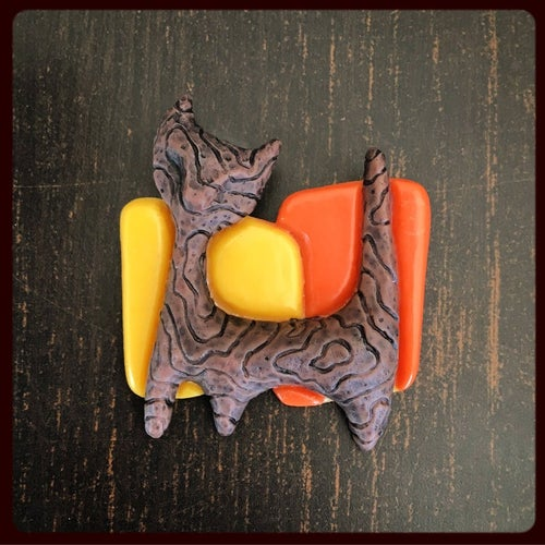 Image of Witco Cat Brooch