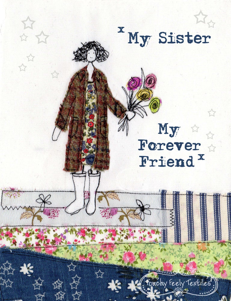 Image of My sister my forever friend print