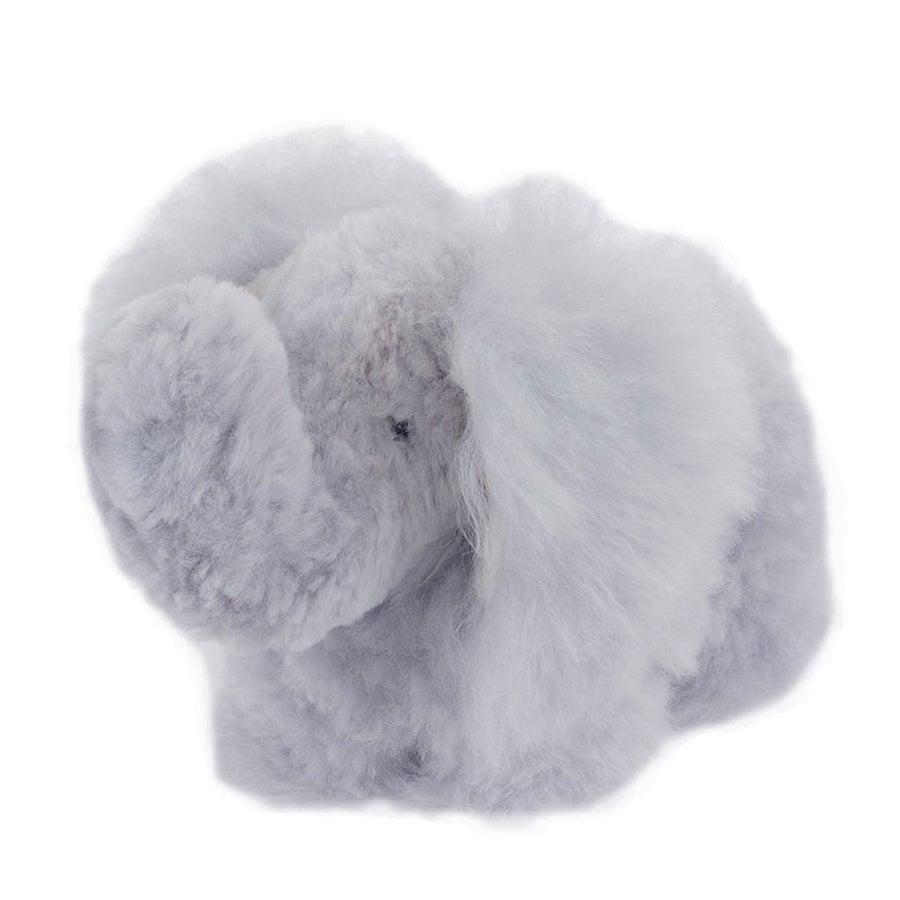 Image of Large STUFFED ALPACA Elephant