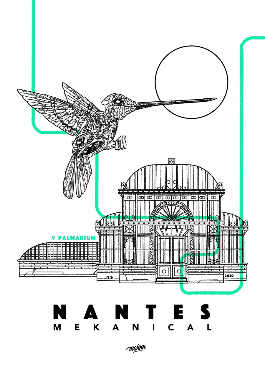 Image of NANTES MEKANICAL COLIBRI