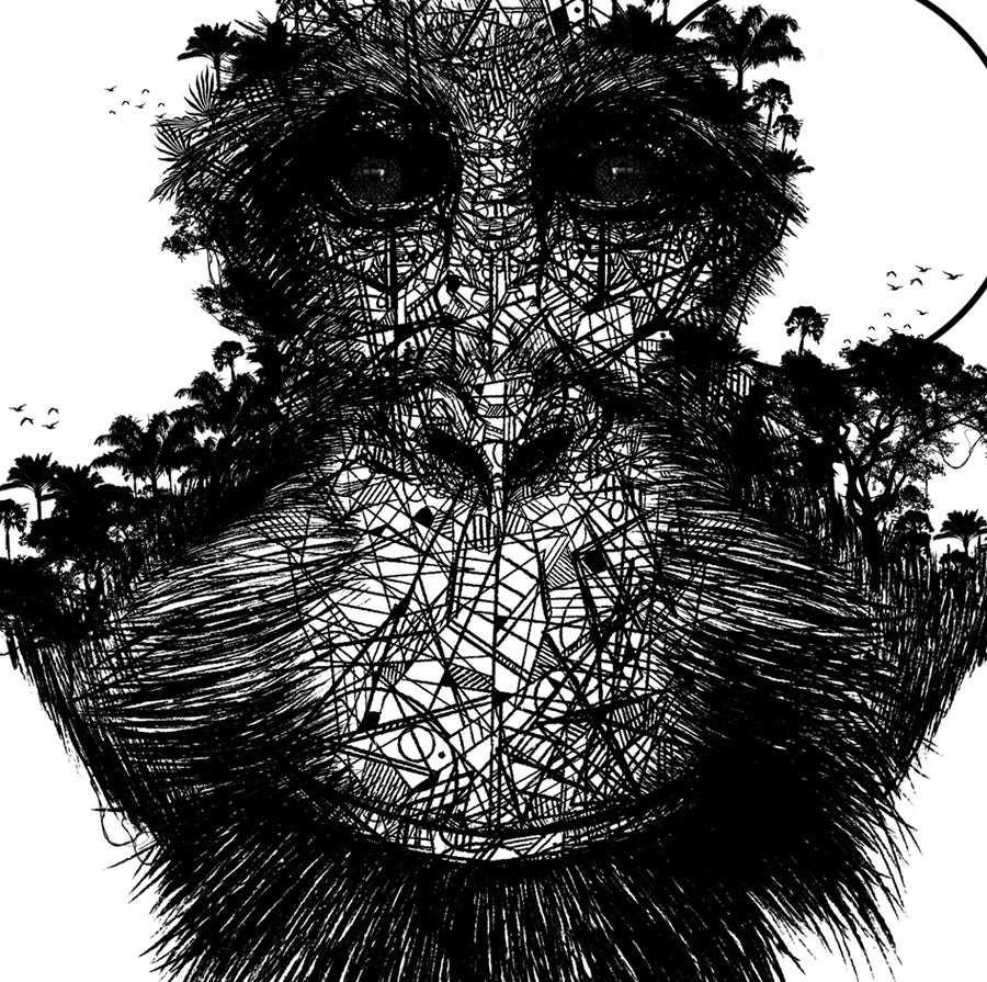 Image of ORANG-OUTAN FOREST FACE