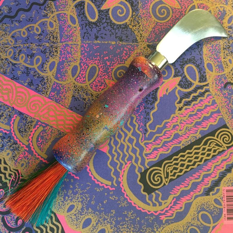 Image of Berlin Graffiti Wall Mushroom Hunting Knife