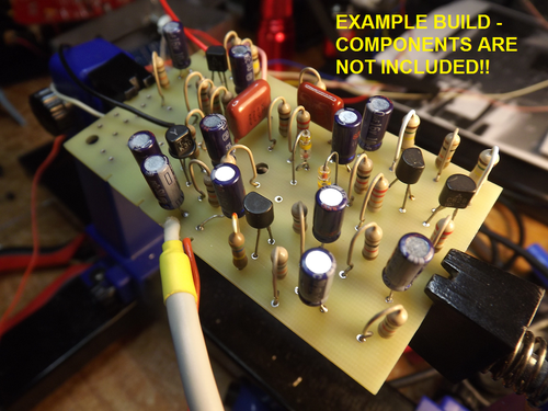 Image of DEFX IBANEZ STANDARD FUZZ #59 - REPRODUCTION PCB