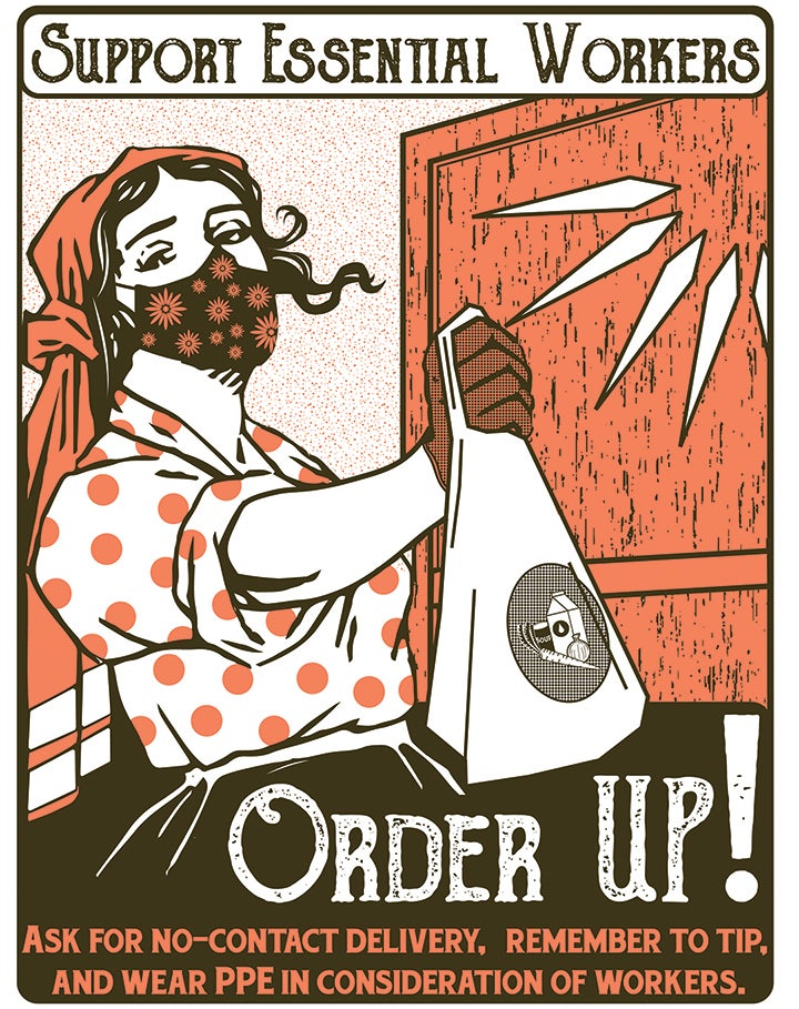 Image of Order UP! Poster