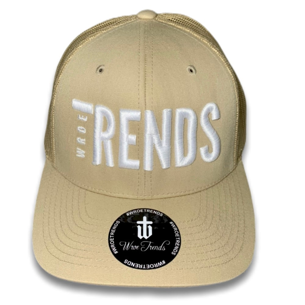 Image of TRENDS NUDE TRUCKER • WHITE