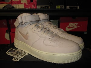 "Image of NikeLab Air Force 1 Mid Retro PRM ""Jewel/Silt Red"""