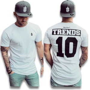 Image of WHITE TRENDS 10 PREMIUM TEE